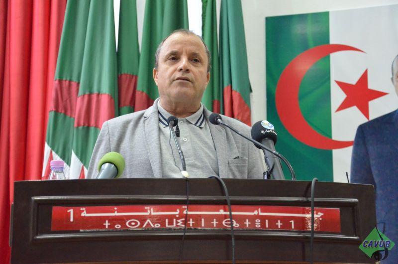 محاظرة الاستاذ الدكتور علي اجقو بمناسبة عيد الطالب 19 ماي 2018
