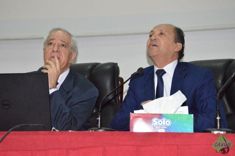كلية العلوم التجارية تنظم ملتقى حول الأزمة الاقتصادية الجزائرية من تقديم معالي الوزير السابق البروفيسور عبد الحميد طمار