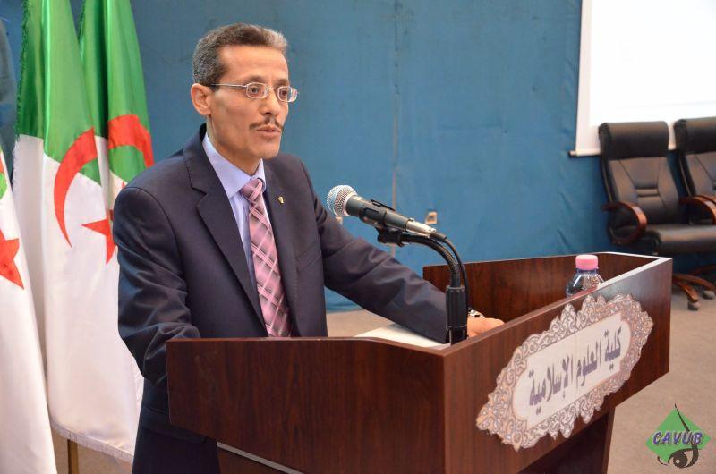 كلمة السيد عميد كلية العلوم الإسلامية بمناسبة الذكرى العشرون لوفاة العقيد المجاهد الحاج لخضر