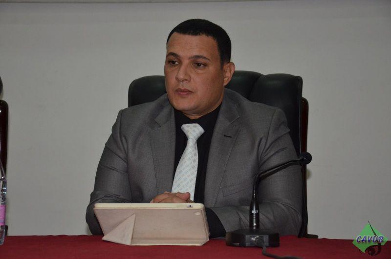 زيارة الاعلامي كريم بوسالم لجامعة باتنة بمناسبة اليوم العالمي للصحافة