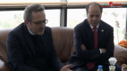القنصل الفرنسي في زيارة عمل بجامعة باتنة 1